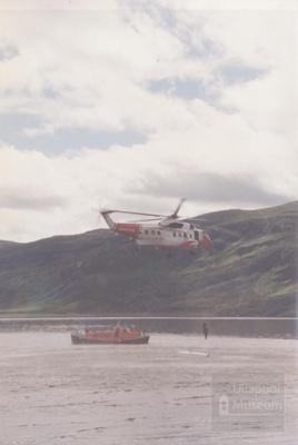 Coastguard helicopter G-BDII; 1988?; ULMPH 2000 0004