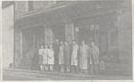 Staff of Lochbroom Trading shop on Shore Streetreet; ULMPH 2000 0572