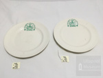 2 Ullapool village hall plates; ULM ACC 1997 190 a and b