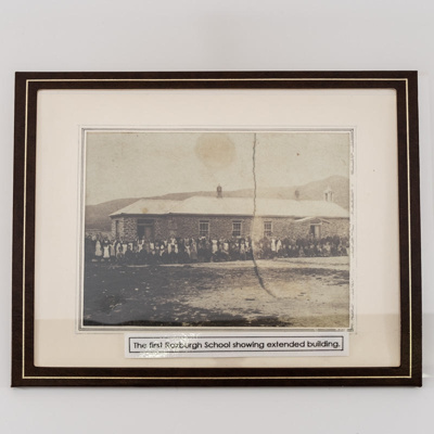 Photograph, First Roxburgh School; unknown photographer; 1890?; RX.2018.89.8