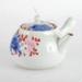 Pottery, ornate decorated tea pot; unknown maker; ?; RX.2018.36