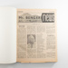 Book, Bound volume of Mt Benger News; Mt Benger News; 1968; RX.2001.27.3