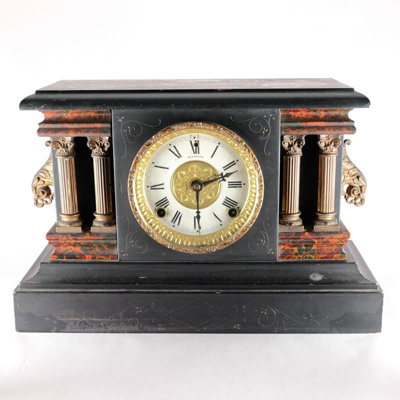 Timepiece, Mantlepiece Clock; The Sessions Clock Company; 1878; RX.1975.2