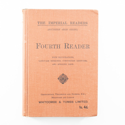 Book, The Imperial Readers Fourth Reader; The Imperial Readers; 1880-1940; RX.1997.27.6
