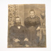 Mounted photograph, portrait of couple; unknown; 1900?; RX.2018.182.2
