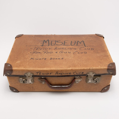 society, suitcase; unknown maker; ?; RX.2018.104.1