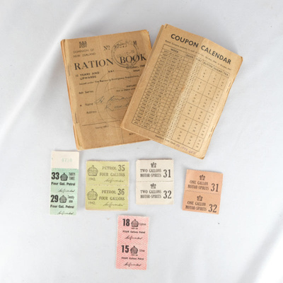 Ration books (2); 00.00.1946; RX.1998.40.5