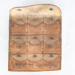 Leather coin case; unknown maker; ?; RX.1998.41.4