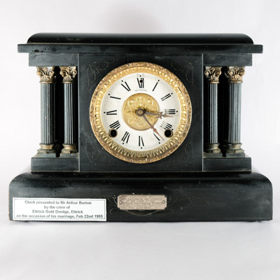 Timepiece, Mantlepiece Clock; The Sessions Clock Company; 1902; RX.1978.11