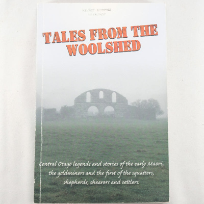 Book, Tales from the Woolshed; John Crawford; 2006; RX.2018.53