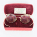 Optical, Spectacles in Case; unknown maker; 1938; RX.2001.22.1