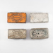 smoking, collection of match boxes; R. Bell & Co; Post 1832; RX.1975.81