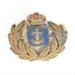 Military, cap badge; Stillwell & Co; 1870; RX.1998.39.9