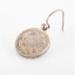 jewellery, one silver earring; unknown maker; ?; RX.1975.12.5