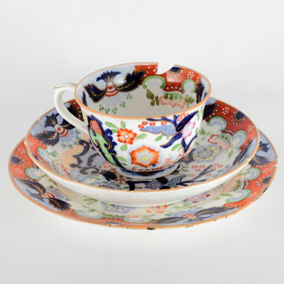 Homeware, Chinese cup, bowl and plate; unknown maker; ?; RX.2018.75