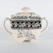 Crockery, Sugar Bowl; W.T. Copeland Pottery; 1870; RX.1975.26