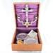 Religion, Last Rites Service Kit; Homan Silver Plate Co.; 1897; RX.1978.18