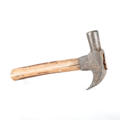 Equipment, Claw Hammer; unknown maker; ?; RX.2001.19