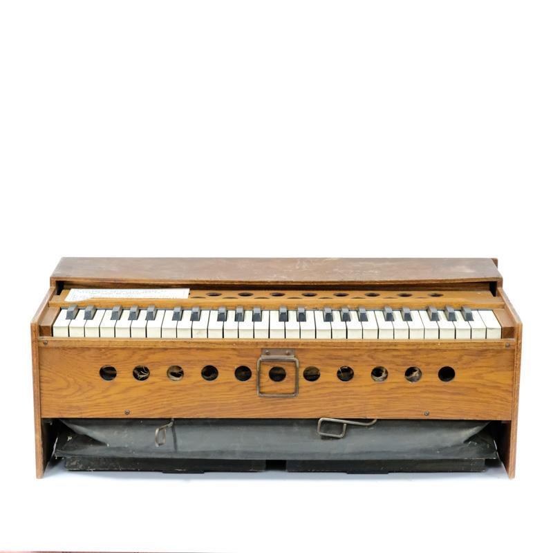 Musical Instrument, Portable Harmonium; unknown maker ...
