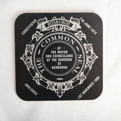 Coaster; unknown maker; 1989; RX.1989.13