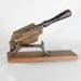 Smoking, tobacco cutter; unknown maker; ?; RX.1987.3