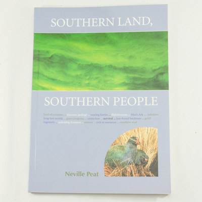 Book, Southern Land - Southern People; Neville Peat; 2002; ISBN 1 877276 16 2; RX.2003.3