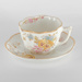 Crockery, Tea Plate, Cup and Saucer; unknown maker; 1870?; RX.1975.9