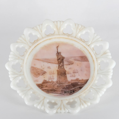 Commemorative, Souvenir Plate; unknown maker; ?; RX.1975.14.2