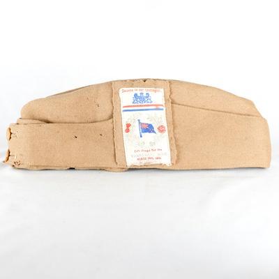 Khaki uniform headgear; New Zealand Clothing Factory; 1900; RX.1975.3