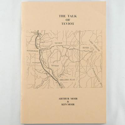 Book, Talk of Teviot; Arthur Moir and Ken Moir; ?; RX.2002.8