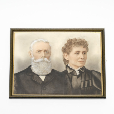 Painting, Mr and Mrs Bloxham Portrait; unknown; ?; RX.2018.179.3