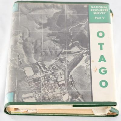 Book, National Resources Survey Part V Otago; 1967; RX.2001.27.4