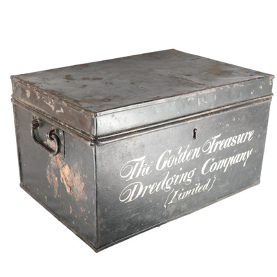 Box, Metal container for documents; unknown maker; ?; RX.1977.24
