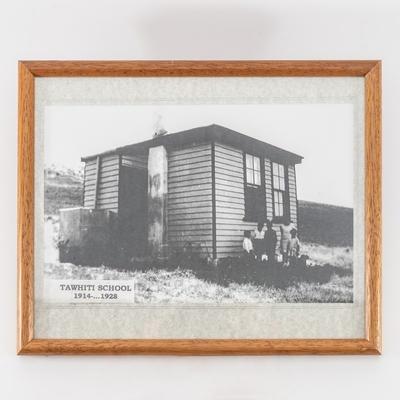 Photograph, Tawhiti School 1914-1928; unknown photographer; 1920; RX.2018.89.7