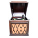 Audio, Edison diamond disc gramophone and records; Thomas A Edison Inc.; 1927; RX.1997.30.1