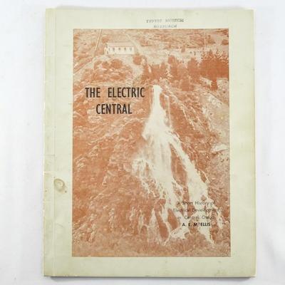 Book, The Electric Central; A.E.M. Ellis; 1972; RX.2018.59
