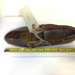 1920's Women's Leather Shoe; Picotee; 1920s; MSCL.2018.08