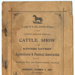 Catalogue, Western Districts Agricultural & Pastoral Association Cattle Show; Western Star Newspaper; 1902