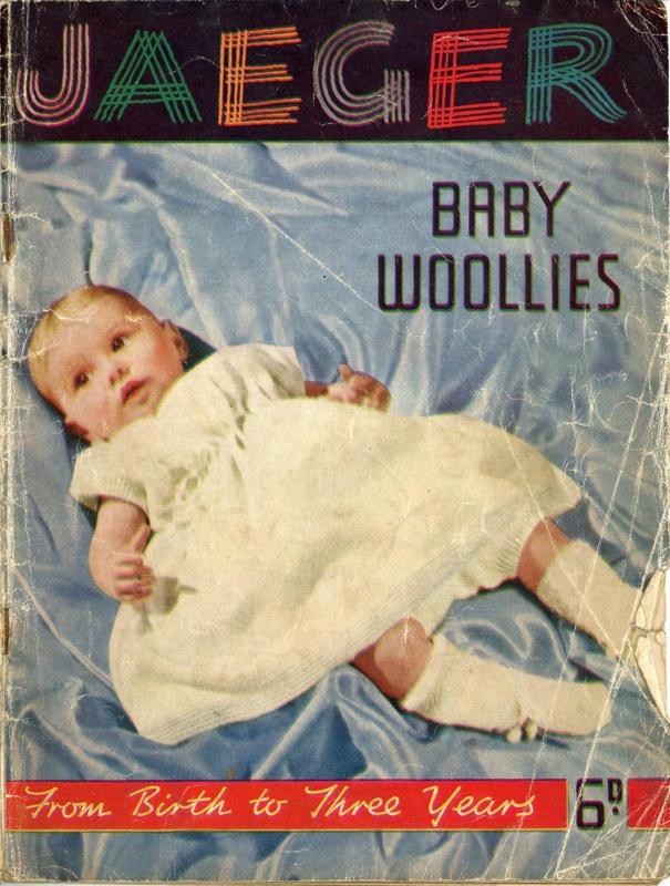 Knitting pattern: Baby Woollies; Jaeger Hand Knitting Ltd; GWL-2015-34-62
