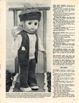 Knitting pattern: A Well Dressed Doll; Woman's Weekly; GWL-2016-95-118