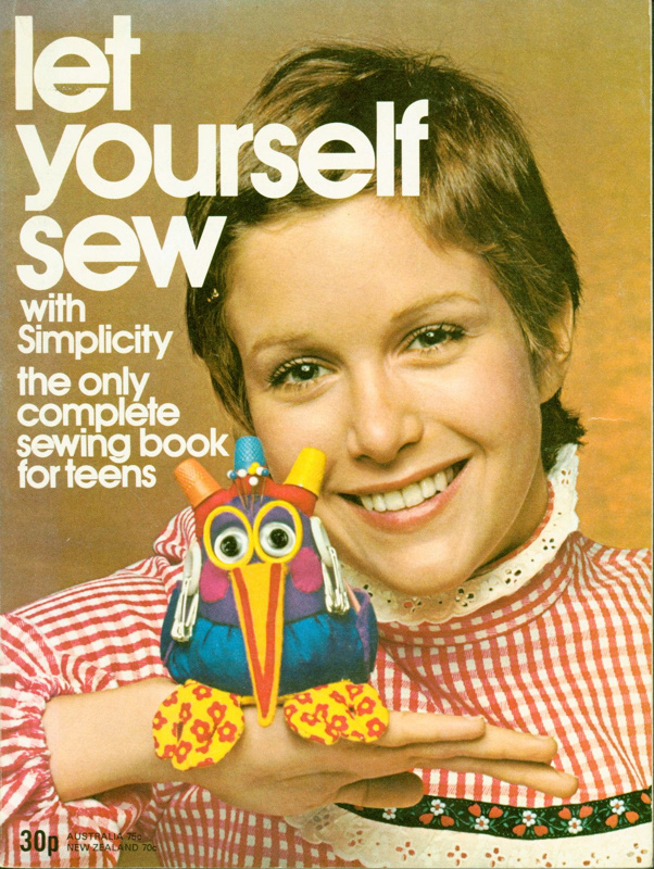 Let Yourself Sew with Simplicity: the only complete sewing book for teens; 2019.33.5