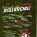 Foldout poster for 'Get Kilt!' presented by Stuttgart Valley Roller Girlz