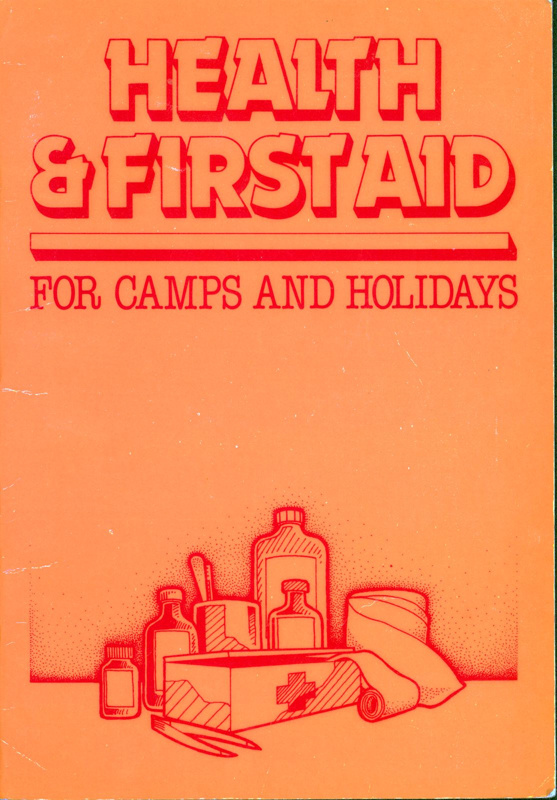 Front cover of Health & First Aid for Camps and Holidays by Lynette Field