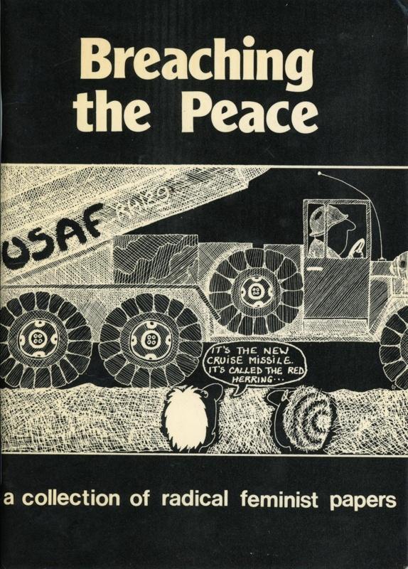 Front cover: Breaching the Peace; Onlywomen Press Ltd; 1983; GWL-2021-16-4