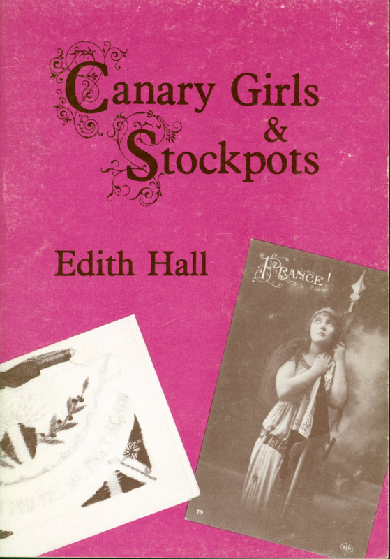 Front cover of 'Canary Girls & Stockpots' by Edith Hall