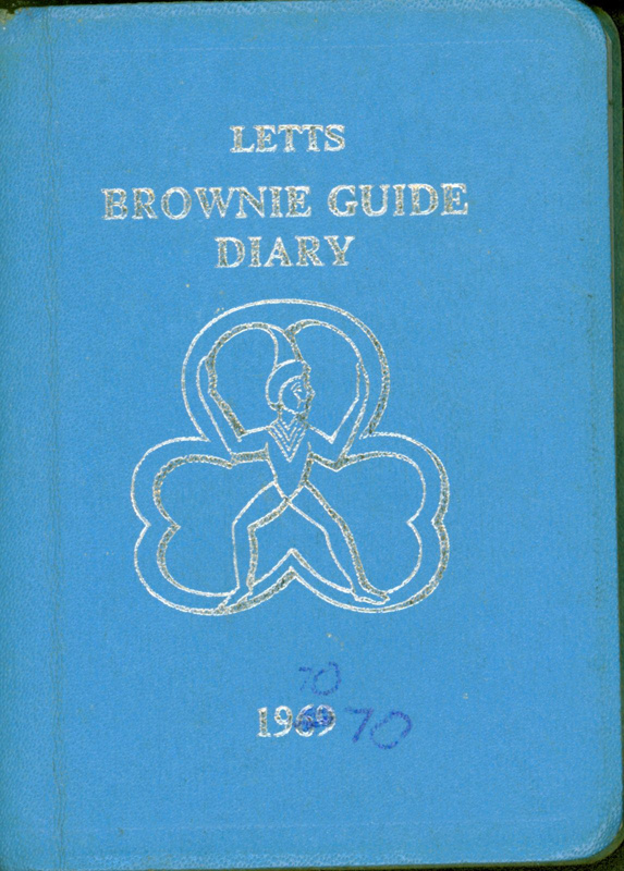Letts Brownie Guide Diary 1969