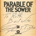 Signed title page: Parable of the Sower; Butler, Octavia E.; 1993; GWL-2020-49