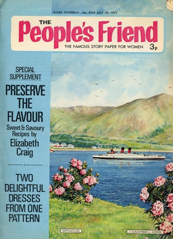Magazine: The People's Friend No. 5349; D.C. Thompson & Co. Ltd; July 1972; GWL-2015-34-87