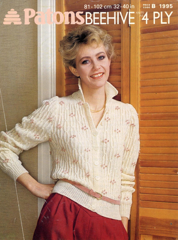 Knitting pattern: Return to Fashion; Patons Beehive Booklet 1995; 1982; GWL-2015-34-129