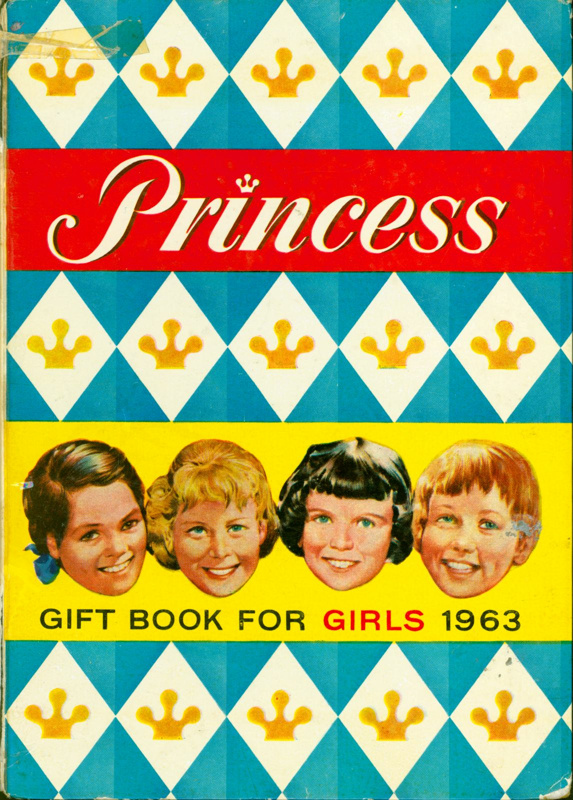 Princess Gift Book For Girls 1963 ; 2017.5.29